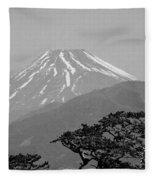 Mt. Fuji Fleece Blanket