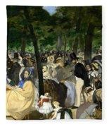 Music In The Tuileries Fleece Blanket