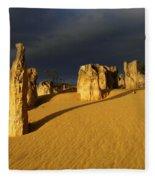 Nambung Desert Australia 1 Fleece Blanket