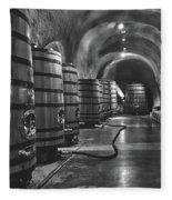 Napa Valley Wine Cellar Fleece Blanket