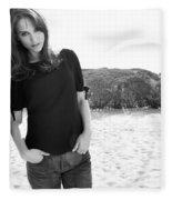 Natalie Portman Fleece Blanket