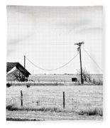 New Mexico Roadside Fleece Blanket