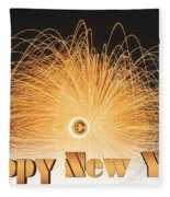 New Year Fleece Blanket