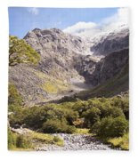 New Zealand Landscape Fleece Blanket