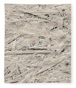 Newsprint, Sem Fleece Blanket
