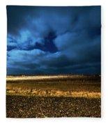 Icelandic Night  Fleece Blanket
