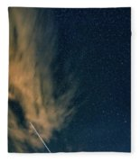 Night Journey Fleece Blanket