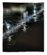 Night Stream Fleece Blanket