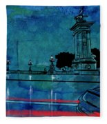 Nightscape 04 Fleece Blanket