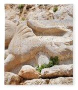Nimrod Fortress National Park  Fleece Blanket