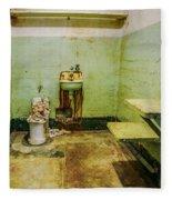 Alcatraz Cell 1 Fleece Blanket