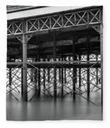 North Pier Blackpool Fleece Blanket