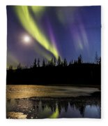 Northern Lights Thingvellir Fleece Blanket