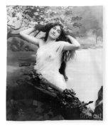 Nude Model, 1903 Fleece Blanket