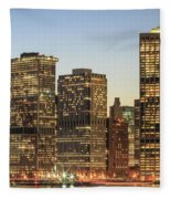 Ny Downtown Fleece Blanket