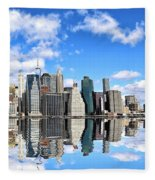 Ny East River Fleece Blanket