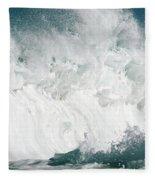 Oahu Wave Fleece Blanket