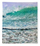 Ocean Surf Fleece Blanket