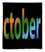 October 7 Fleece Blanket