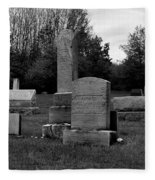 Odd Fellows Cemetery Fleece Blanket
