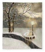 Oh Let It Snow Let It Snow Fleece Blanket