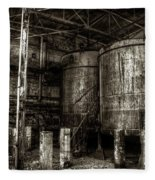 Old Crow Mash Fleece Blanket