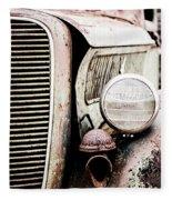 Old Farm Ford Fleece Blanket