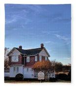 Old Point Comfort Lighthouse Fleece Blanket