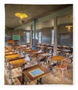 Old Schoolroom Fleece Blanket