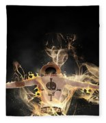 One Piece Fleece Blanket