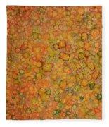 Orange Craze Fleece Blanket