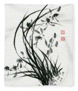 Orchid - 31 Fleece Blanket