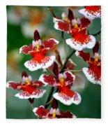 Orchid 34 Fleece Blanket