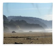 Oregon Coast 8 Fleece Blanket