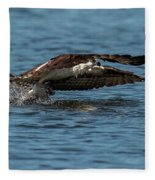 Osprey Fishing Fleece Blanket