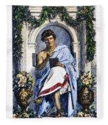 Ovid (43 B.c.-c17 A.d.) Fleece Blanket