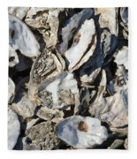 Oyster Shells Fleece Blanket