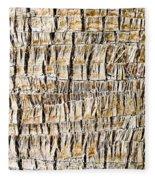 Palm Trunk Fleece Blanket