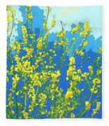 Palo Verde Spring Fleece Blanket
