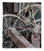 Palouse Farm Wheels 3156 Fleece Blanket