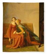 Paolo And Francesca Fleece Blanket