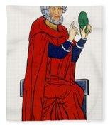 Paracelsus, Swiss Doctor And Alchemist Fleece Blanket