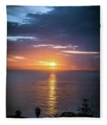 Pastel Sky Fleece Blanket