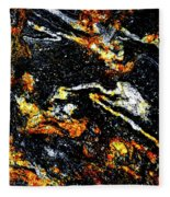 Patterns In Stone - 189 Fleece Blanket