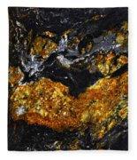 Patterns In Stone - 218 Fleece Blanket