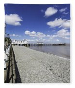 Penarth Pier 4 Fleece Blanket