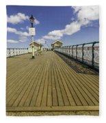 Penarth Pier 7 Fleece Blanket