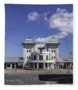 Penarth Pier Pavilion 2 Fleece Blanket