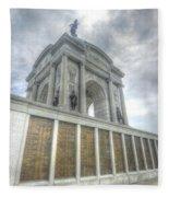 Pennsylvania Monument Fleece Blanket