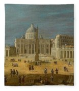 Peters Basilica Fleece Blanket